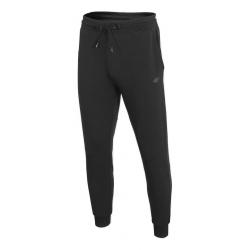 Pánske teplákové nohavice 4F-MENS TROUSERS-H4Z20-SPMD013-20S-DEEP BLACK