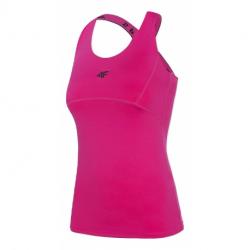 Dámské tréninkové tílko 4F-WOMENS FUNCTIONAL T-SHIRT-H4Z20-TSDF012-55S-HOT PINK