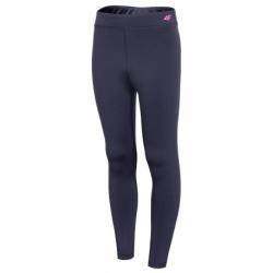 Dívčí termo kalhoty 4F-GIRLS UNDERWEAR-HJZ20-JBIDD002-31S-NAVY