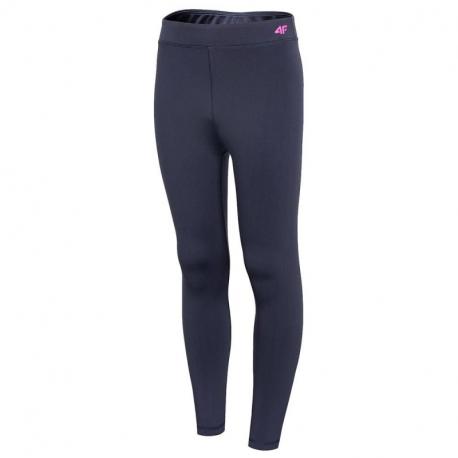 Dievčenské termo nohavice 4F-GIRLS UNDERWEAR-HJZ20-JBIDD002-31S-NAVY