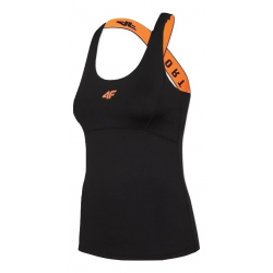 Dámské tréninkové tílko 4F-WOMENS FUNCTIONAL T-SHIRT-H4Z20-TSDF012-20S-DEEP BLACK