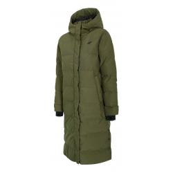 Dámska bunda 4F-WOMENS JACKET-H4Z20-KUDP009-43S-KHAKI