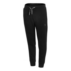 Chlapčenské teplákové nohavice 4F-BOYS TROUSERS-HJZ20-JSPMD007-21S-BLACK
