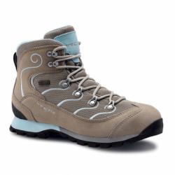 Dámská turistická obuv vysoká TREZETA-GLITTER WP BEIGE WATER BLUE