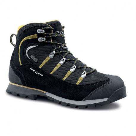 Pánska turistická obuv vysoká TREZETA-MAORI WP BLACK