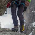 Pánska turistická obuv vysoká KAYLAND-CROSS MOUNTAIN GTX YELLOW -