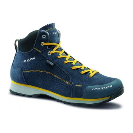 Pánska turistická obuv stredná TREZETA-FLOW EVO WP MID BLUE LEMON