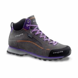 Dámská turistická obuv střední TREZETA-SPRING EVO WP MID GREY VIOLET