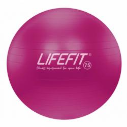 Fitness lopta LIFEFIT-Gymnastická lopta LIFEFIT ANTI-BURST 75 cm