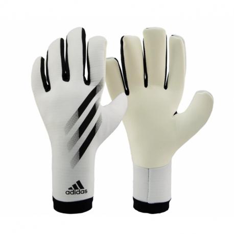 Futbalové brankárske rukavice ADIDAS-X GL TRN WHITE/BLACK