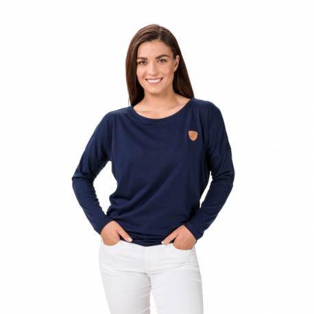 Dámske tričko s dlhým rukávom SAM73-Antonia-240-Blue