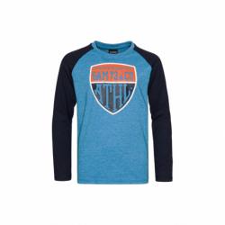 Chlapčenské tričko s dlhým rukávom SAM73-Blake-220-Blue
