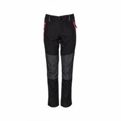 Dívčí turistické kalhoty SAM73-Corinne-500-Black