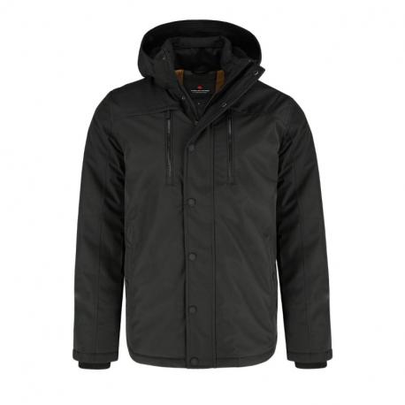 Pánska bunda VOLCANO-J-SEETS-700-BLACK