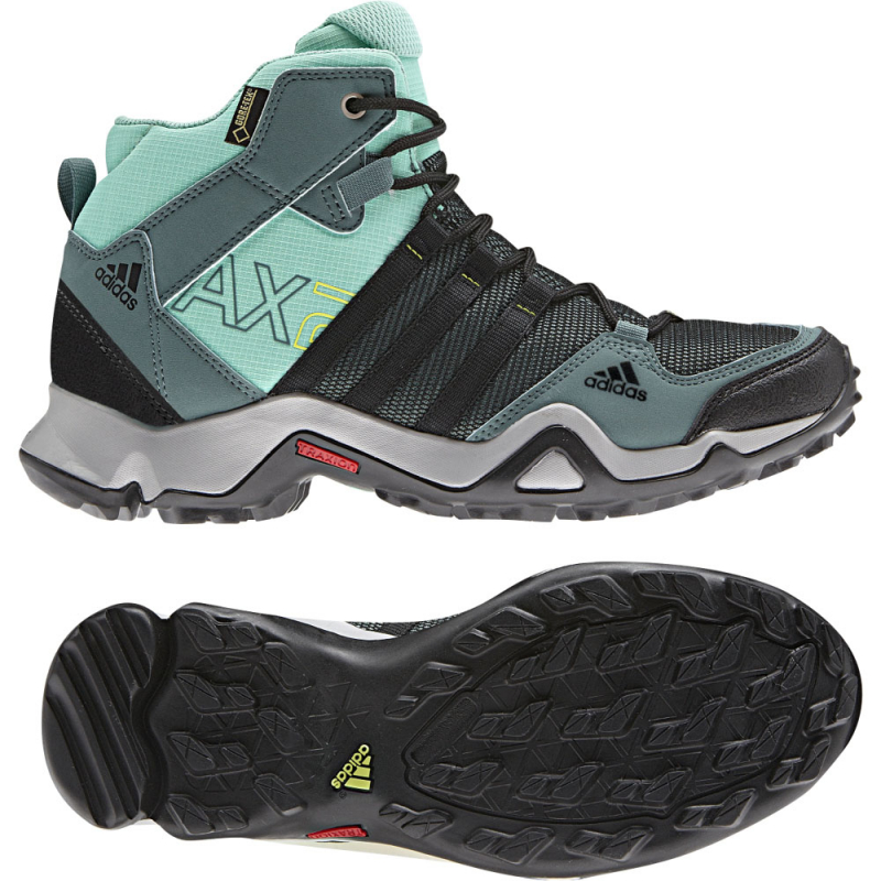 more photos 627f3 71391 Adidas Ax2 Mid Gtx W Vista Green S14 Black 1 Bahia Mint