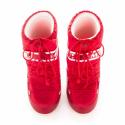 Dámska zimná obuv vysoká MOON BOOT-MBNYLON red -