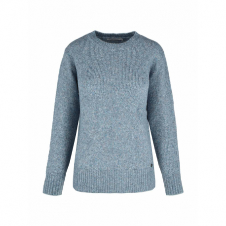 Dámsky sveter VOLCANO-S-FLUFFY-611M-BLUE MEL
