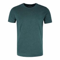 Pánské triko s krátkým rukávem VOLCANO-T-BASIC-300M-GREEN MEL