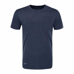 Pánské triko s krátkým rukávem VOLCANO-T-BASIC-600M-NAVY MEL