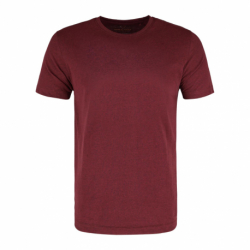 Pánské triko s krátkým rukávem VOLCANO-T-BASIC-400M-RED MEL