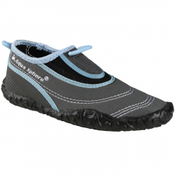 Obuv do vody AQUALUNG-BEACHWALKER XP powderblue/silver