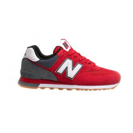 Pánská vycházková obuv NEW BALANCE-ML574SKD red