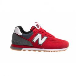 Pánska vychádzková obuv NEW BALANCE-ML574SKD red (EX)