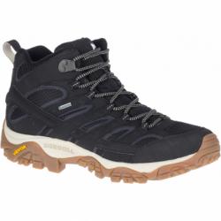 Pánska turistická obuv stredná MERRELL-Moab 2 Mid GTX black/gum (EX)