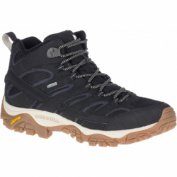 Pánská turistická obuv střední MERRELL-Moab 2 Mid GTX black / gum (EX)