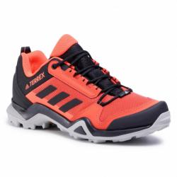 Pánska turistická obuv nízka ADIDAS-Terrex AX3 gloamb/cblack/solred (EX)