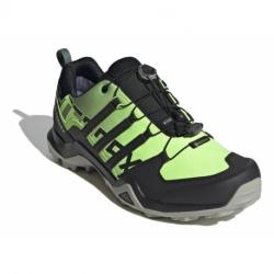 Pánska turistická obuv nízka ADIDAS-Terrex Swift R2 GTX signal green/core black/grey two (EX)