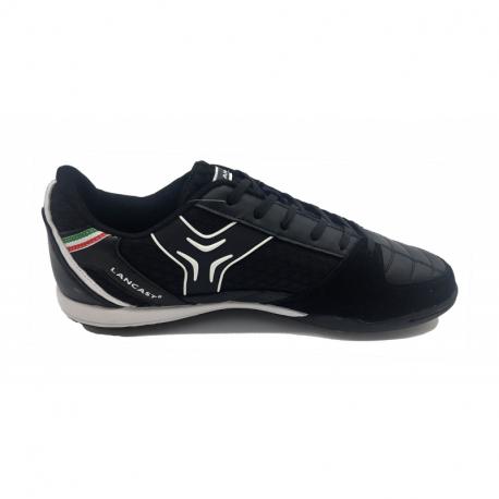 Pánske futbalové kopačky turfy LANCAST-Spirit M TF black/silver
