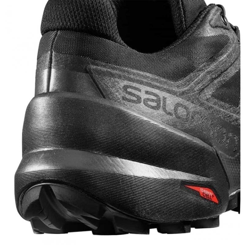 Pánska trailová obuv SALOMON-Speedcross 5 black/black/phantom (EX) -