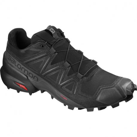Pánska trailová obuv SALOMON-Speedcross 5 Wide black/black/phantom