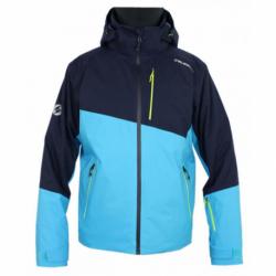 Pánska lyžiarska bunda BLIZZARD-Ski Jacket Blow, light blue/navy blue