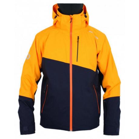 Pánská lyžařská bunda BLIZZARD-Ski Jacket Blow, navy blue / orange