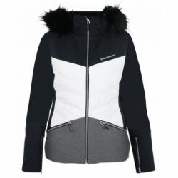 Dámska lyžiarska bunda BLIZZARD-Viva Ski Jacket Grace, white/black/melange
