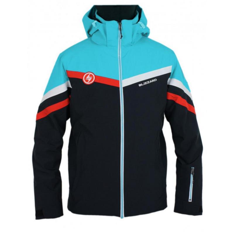 BLIZZARD-Ski Jacket Kitz, black/blue Čierna M