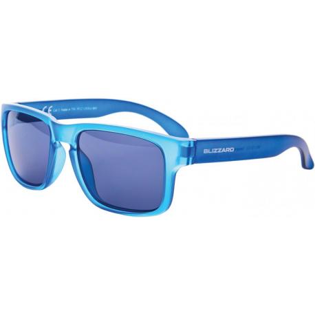 Športové okuliare BLIZZARD-Sun glasses PCC125333, blue trans. matt, 55-15-123