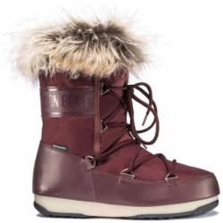 Dámske zimné topánky vysoké MOON BOOT-We Monaco Low port royal