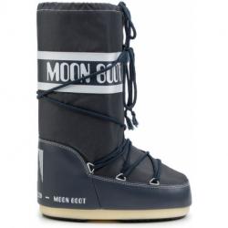 Dětské zimní boty vysoké MOON BOOT-Nylon ným blue