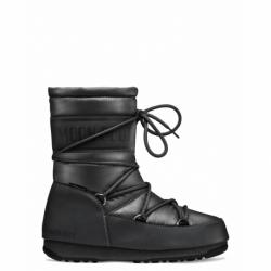 Dámske zimné topánky členkové MOON BOOT-Mid Nylon WP black