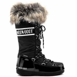 Dámske zimné topánky vysoké MOON BOOT-We Monaco black