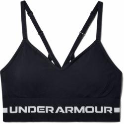 Dámska tréningová športová podprsenka UNDER ARMOUR-UA Seamless Low Long Bra-BLK