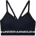 Dámská tréninková sportovní podprsenka UNDER ARMOUR-UA Seamless Low Long Bra-BLK -