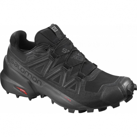 Dámska trailová obuv SALOMON-Speedcross 5 GTX black/phantom