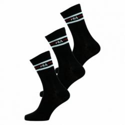 Ponožky FILA-F9092 SOCKS 3-PACK-200 BLACK