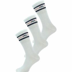 Ponožky FILA-F9092 SOCKS 3-PACK-300 WHITE