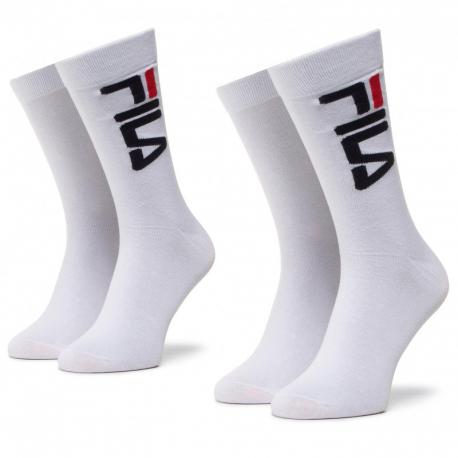 Ponožky FILA-F9632 SOCKS 2-PACK-300 WHITE