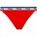 Dámske nohavičky FILA-FU6079 WOMAN BRAZILIAN -118 RED -